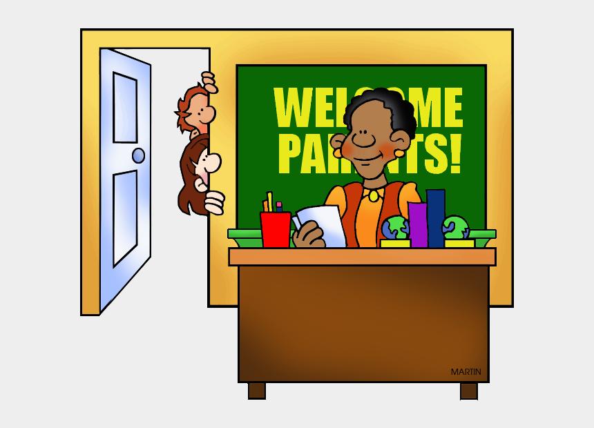 teachers clipart, Cartoons - Parent Teacher Clipart