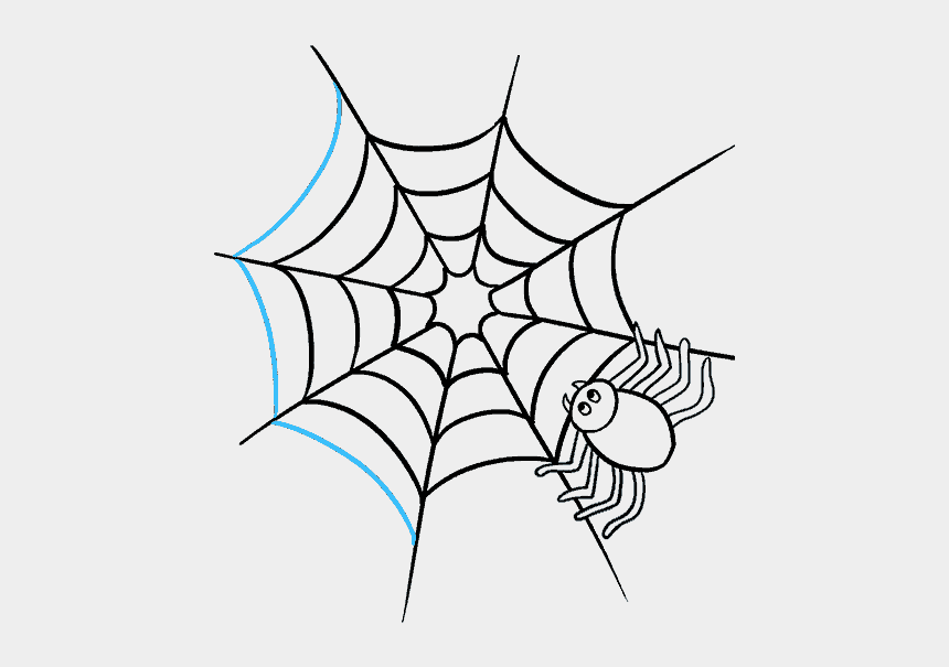 spider web clipart, Cartoons - Cartoon Spider Drawing At Getdrawings Com Free Ⓒ - Spider Web Drawing