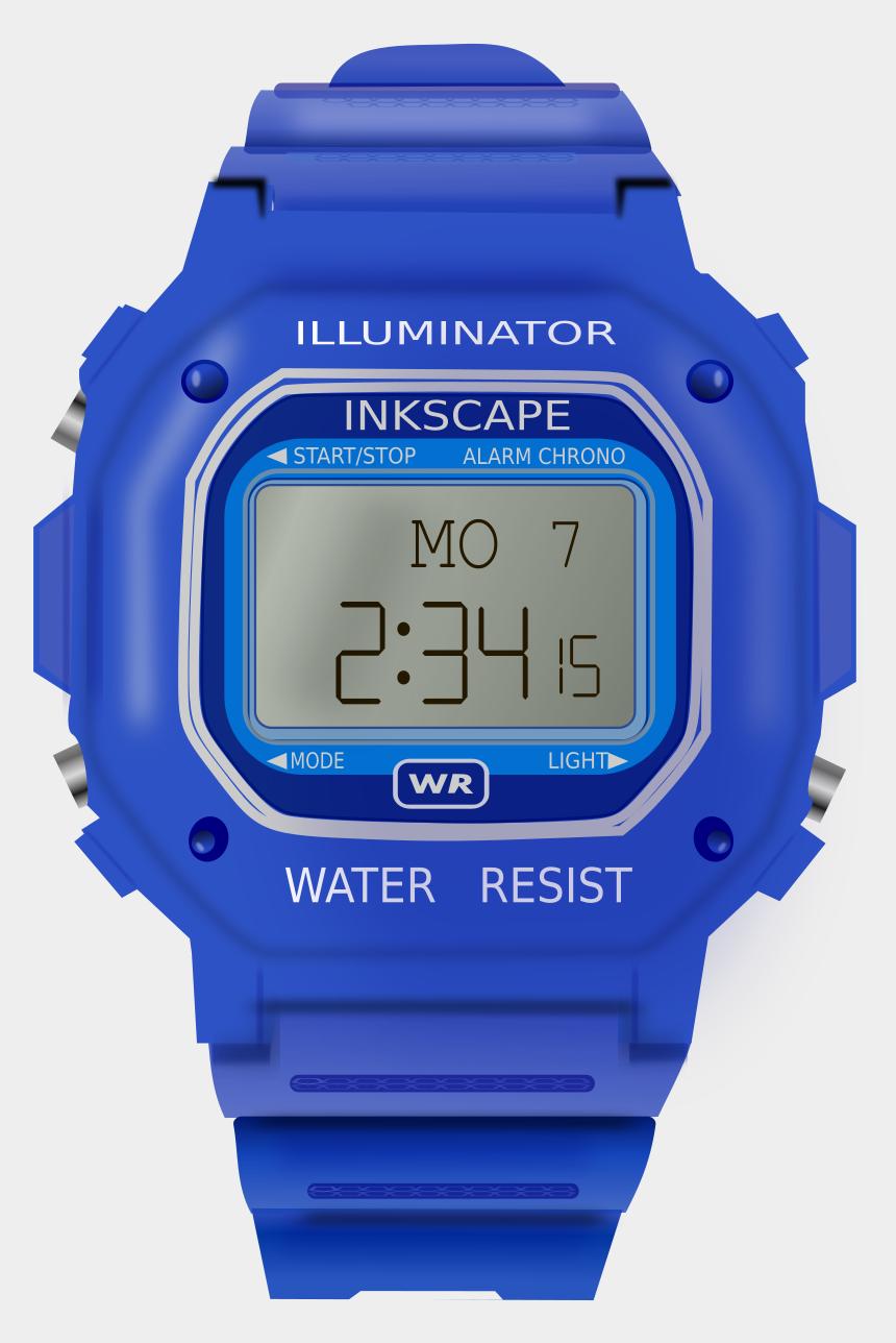 watch clipart, Cartoons - Watch Clip Digital - Digital Watch Clipart