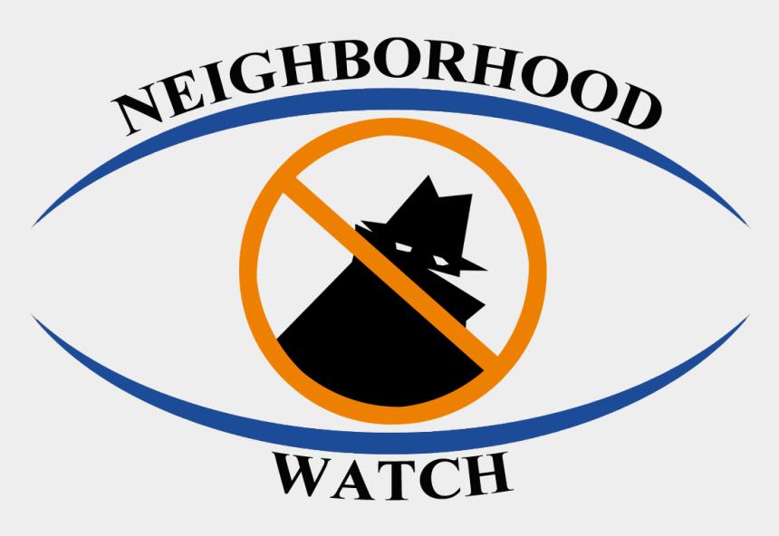 watch clipart, Cartoons - Neighborhood Watch Clipart - Neighbourhood Watch