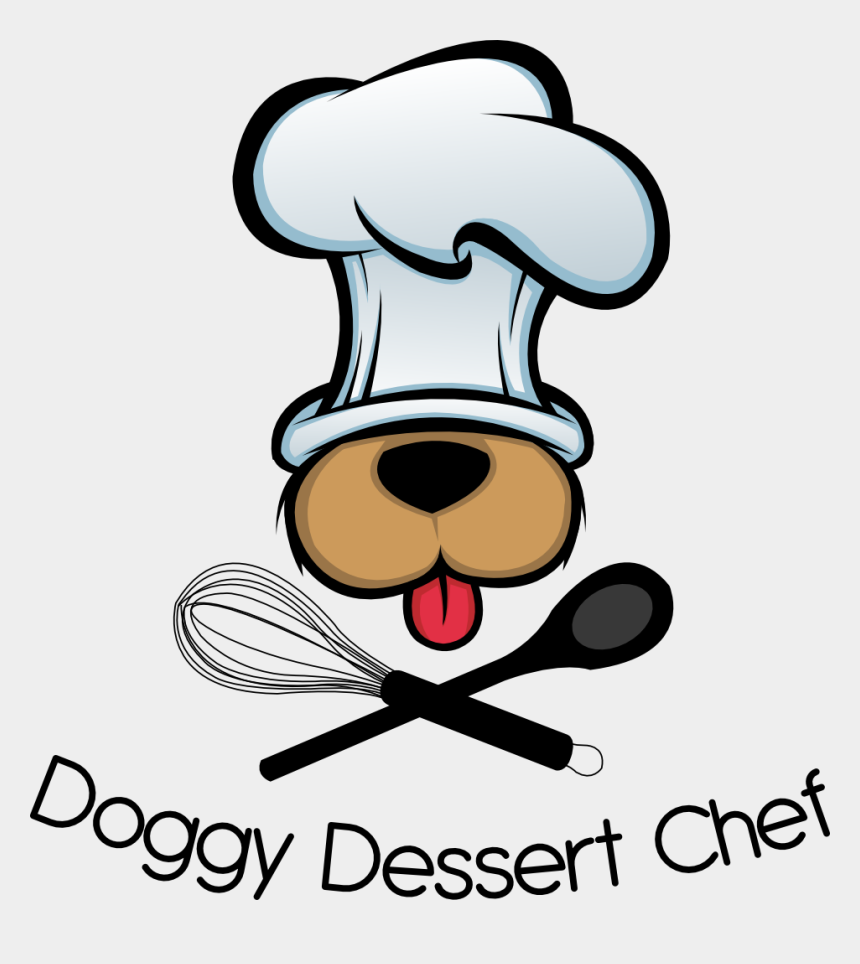 bacon clipart, Cartoons - Peanut Butter Bacon Dog Treat/biscuit Recipe - Dog With Chef Hat Clipart
