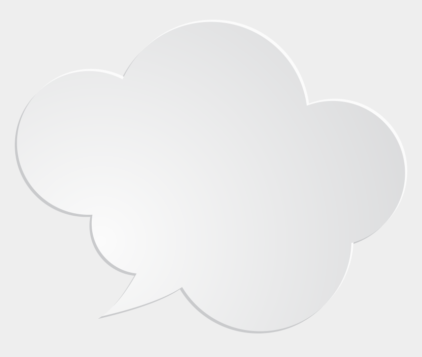 speech bubble clipart, Cartoons - White Speech Bubble Png