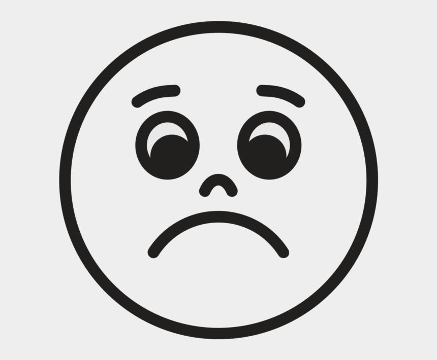 sad face clipart, Cartoons - Smiley