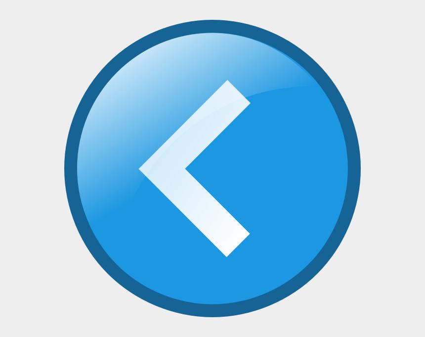 button clipart, Cartoons - Left Button Icon