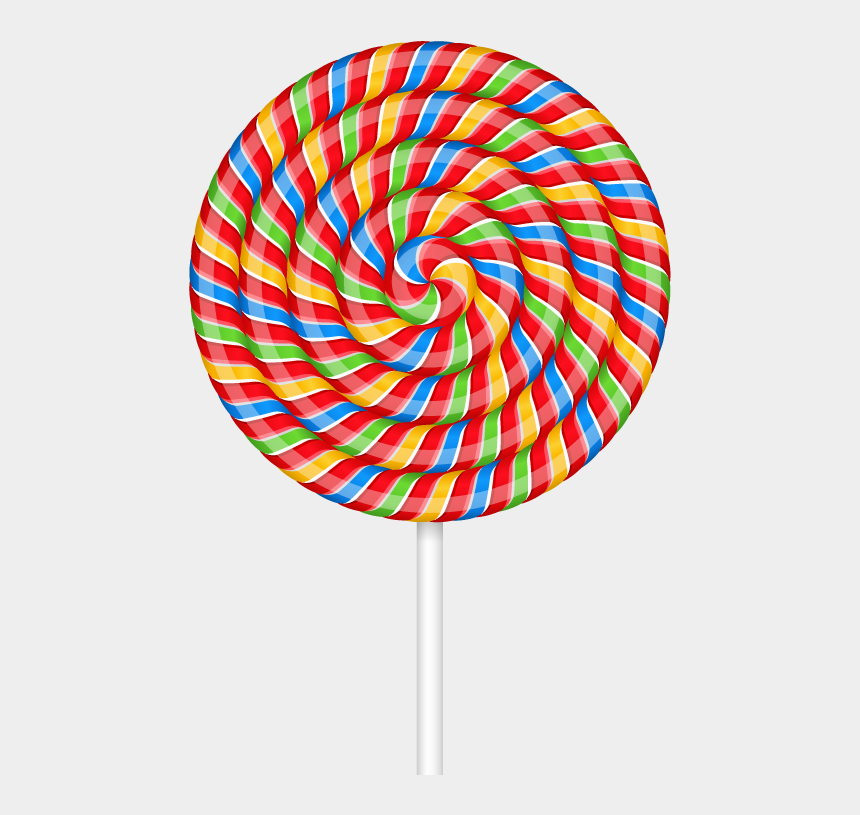lollipop clipart, Cartoons - Transparent Lollipop Red - Transparent Background Lollipop Clipart