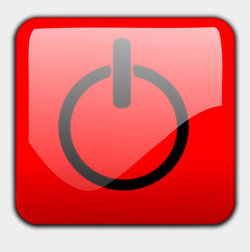button clipart, Cartoons - Shut Down Button Clipart, Vector Clip Art Online, Royalty - Open Close Button Vector