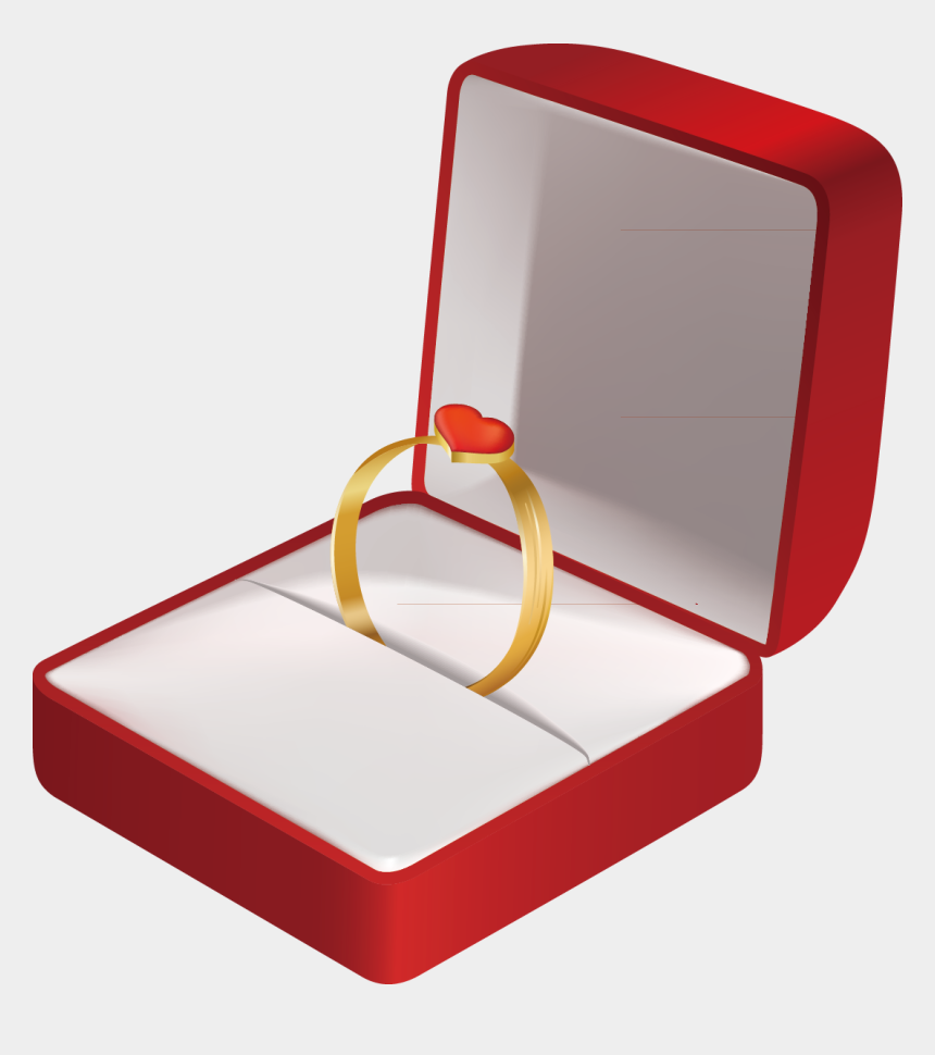 wedding ring clipart, Cartoons - Jewelry Box Png - Wedding Ring Box Transparent