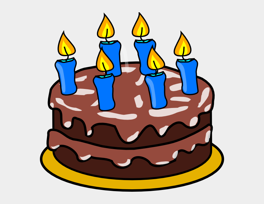 clipart geburtstag, Cartoons - Birthday Cake With 3 Candles