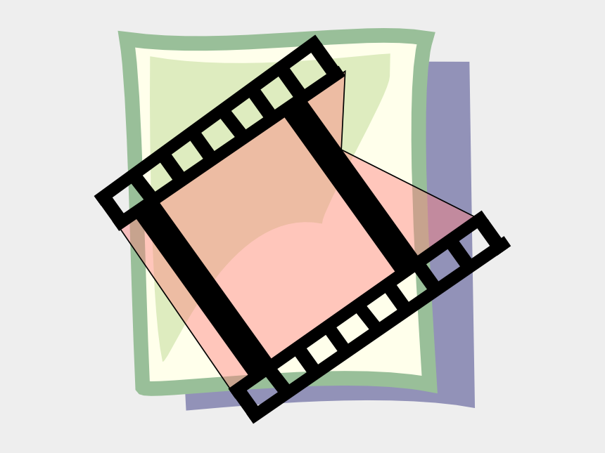 video clipart, Cartoons - Video Svg Clip Arts 600 X 590 Px - Download Button