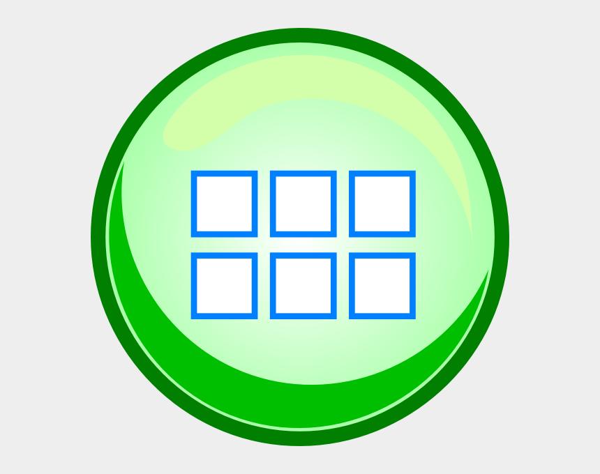 button clipart, Cartoons - Next Button Clipart Green - Button Menu Png