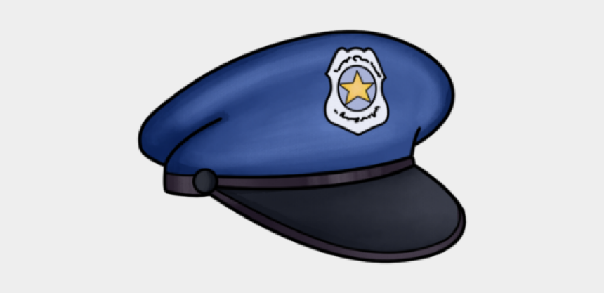 police officer clipart, Cartoons - Cap Clipart Police Officer - Police Hat Png