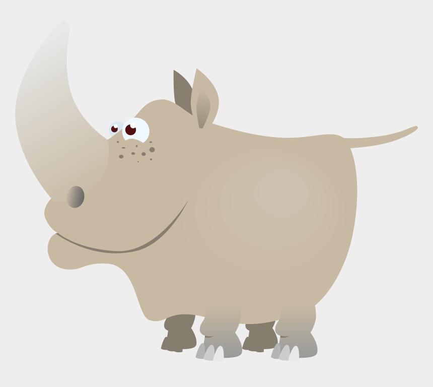 rhino clipart, Cartoons - Rhino Png - Rhinoceros