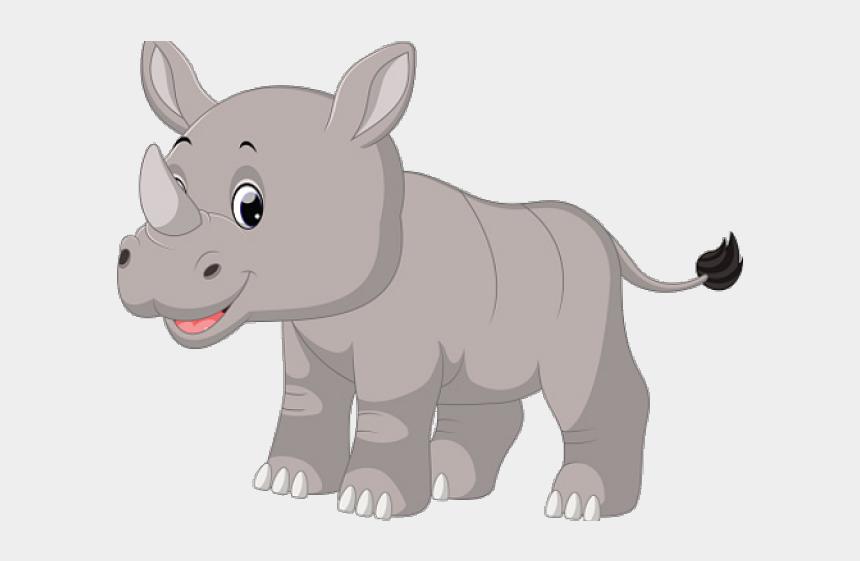 rhino clipart, Cartoons - Rhino Clipart Real - Baby Rhino Cartoon