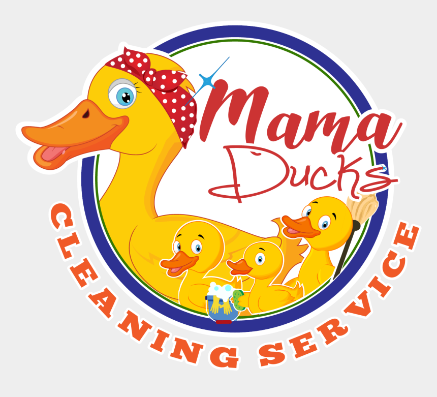 goose clipart, Cartoons - 1500 X 1267 5 0 0 - Mama Ducks Cleaning Service