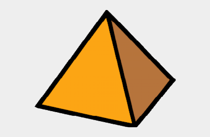 triangle clipart, Cartoons - Pyramid Clipart Triangle Shaped Object - Triangle