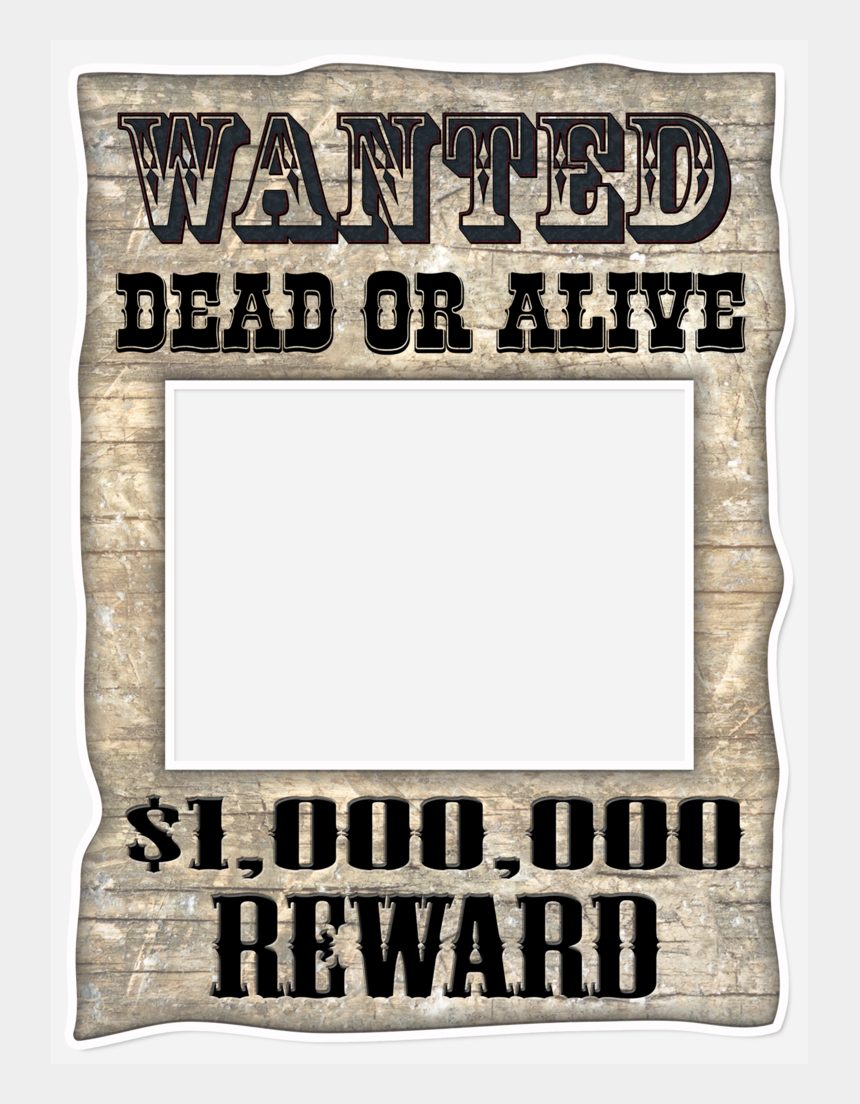 free help wanted clip art, Cartoons - Wanted Picture Frame