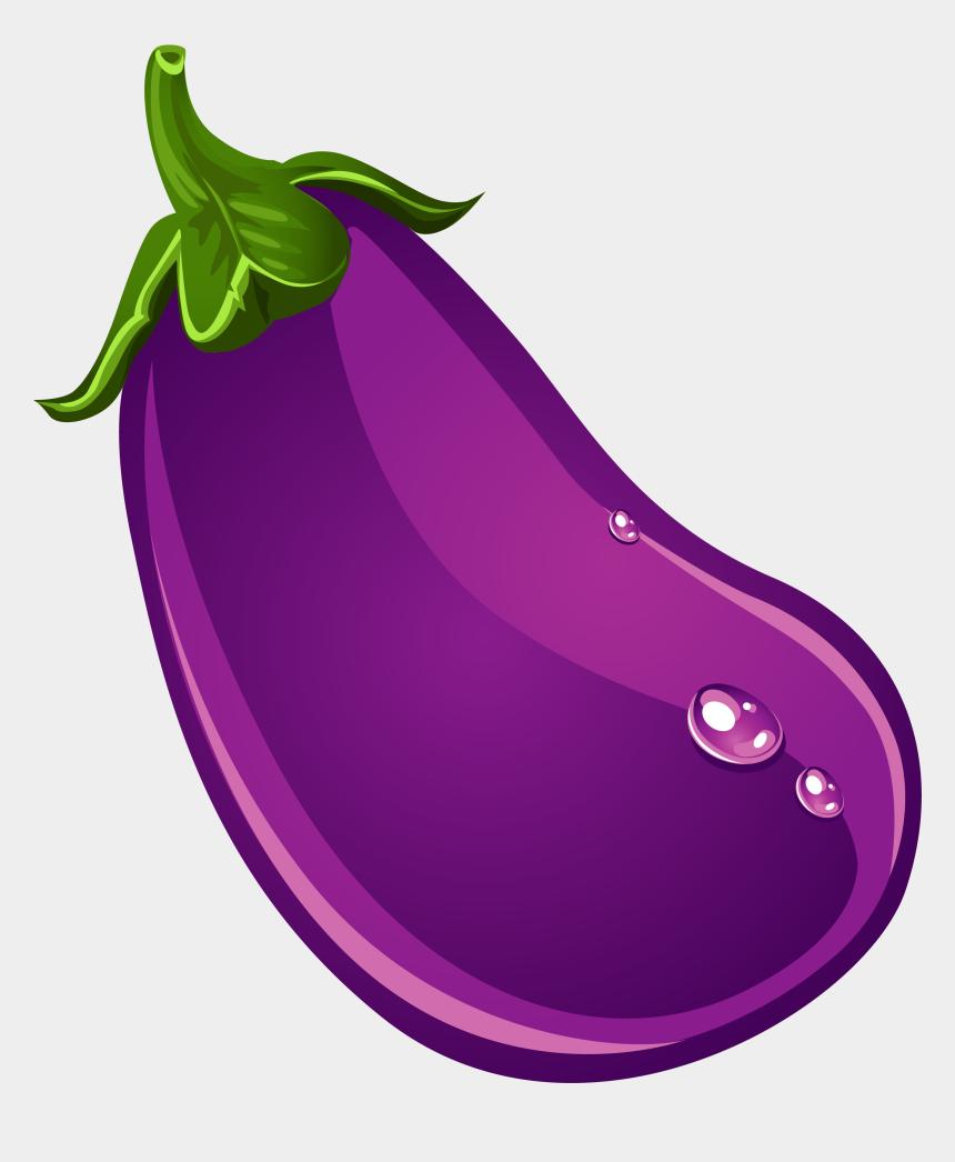 eggplant clipart free, Cartoons - Eggplant Fruit Clipart