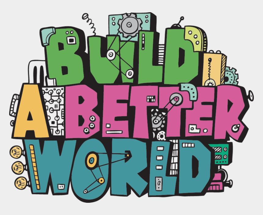 free library of congress clipart, Cartoons - Build A Better World Summer Reading Program