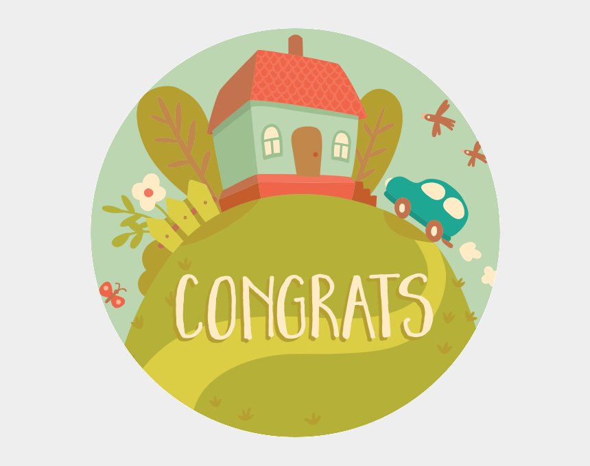 congrats on new home clip art, Cartoons - Home Sweet Home Cartoon