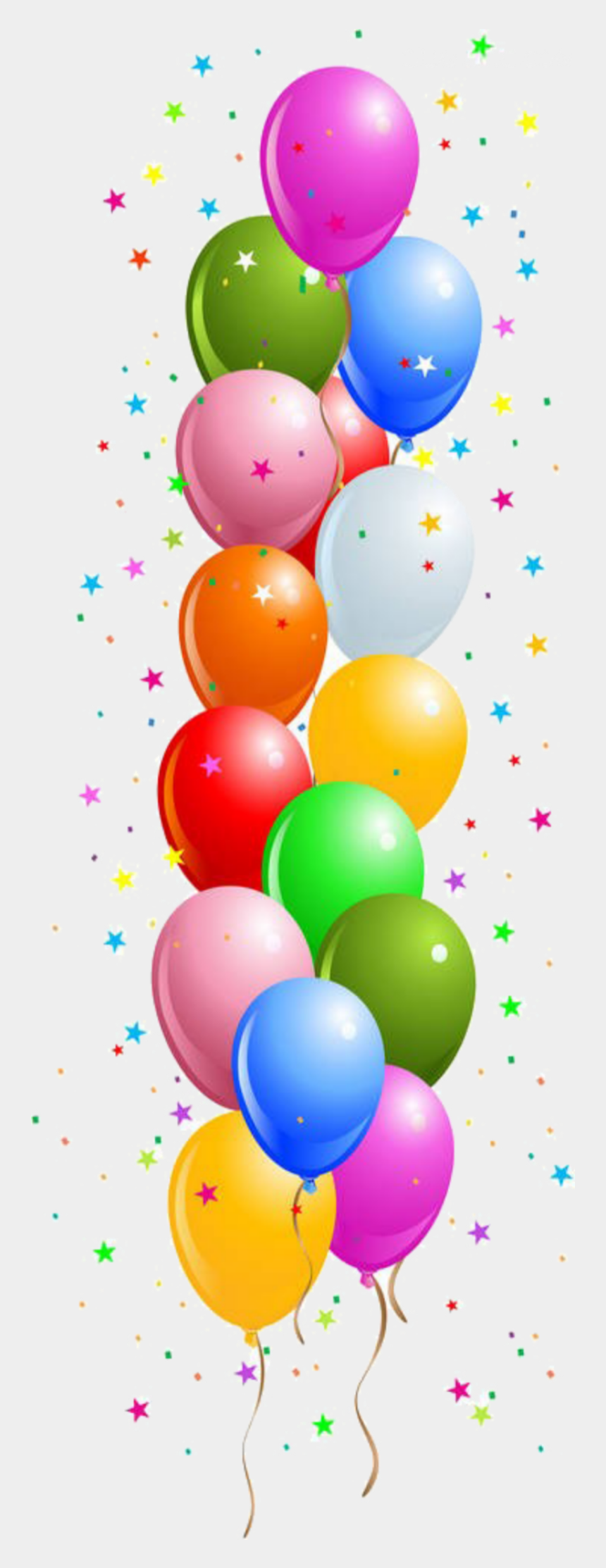balloons borders clip art free, Cartoons - Border Birthday Balloons Clipart - Birthday Cards Border Designs