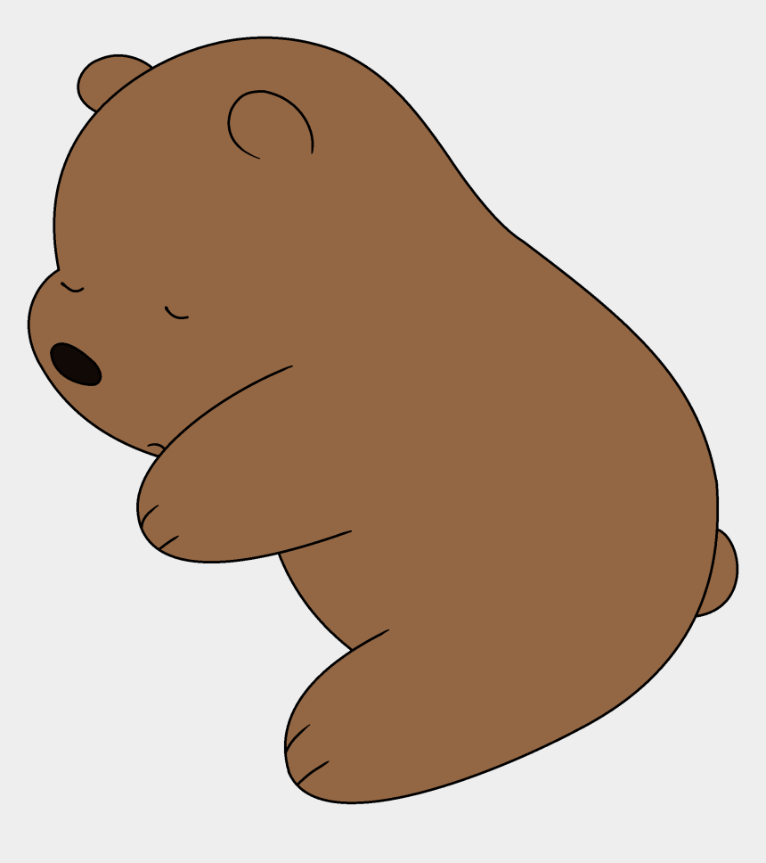 free grizzly bear clipart, Cartoons - Groundhog,brown Bear,cartoon,animal Figure,bear,clip - Cute We Bare Bears Grizzly