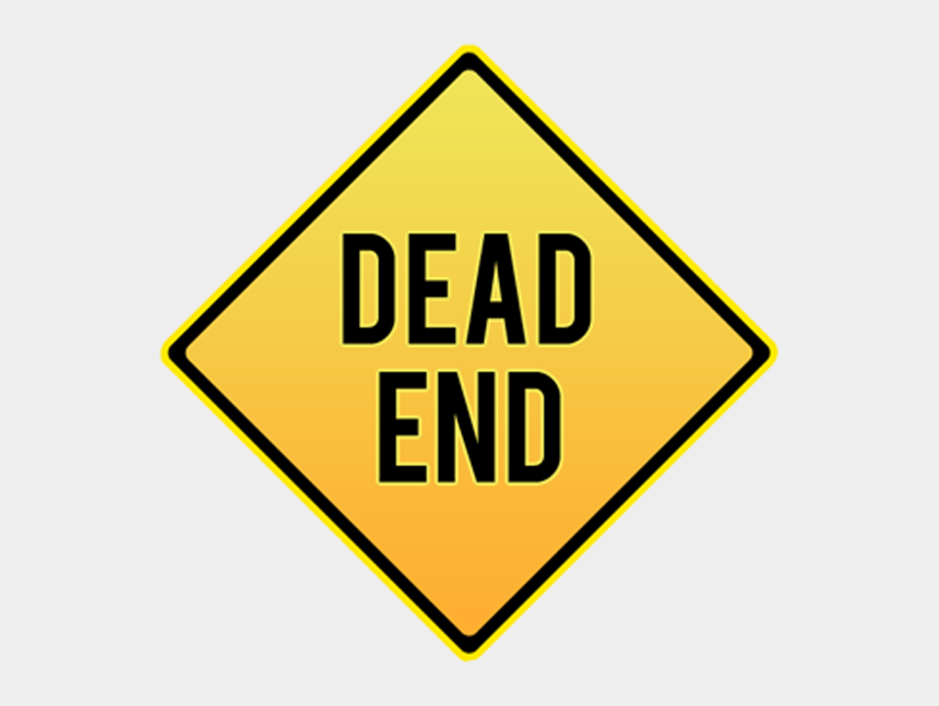 the end sign clip art, Cartoons - Diamond End Dead Sign Traffic Signs Clipart - School Bus Stop Sign Clipart