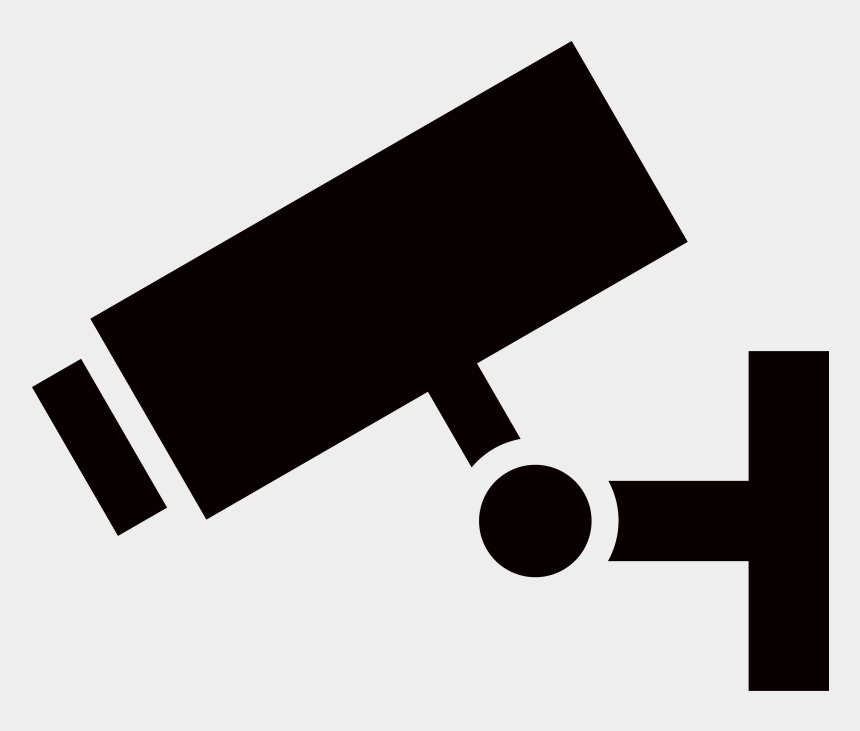 warning signs clip art, Cartoons - Cctv In Triangle Png Clipart , Png Download - Warning Cctv Camera Triangle