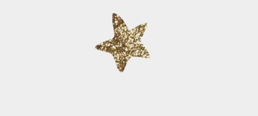 gold glitter star clipart, Cartoons - #star #stars #gold #glitter #sticker #edit #goldglitter - Marine Invertebrates