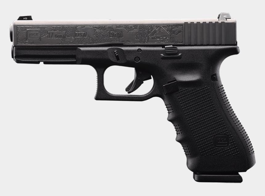 glock 17 clip art, Cartoons - Glock 34 Firearm Glock 26 Glock - Glock 17 Png