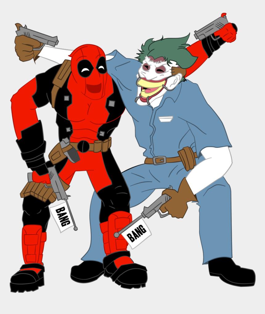 ghost clip art, Cartoons - Ghost Rider Clipart Blue - Joker Vs Deadpool