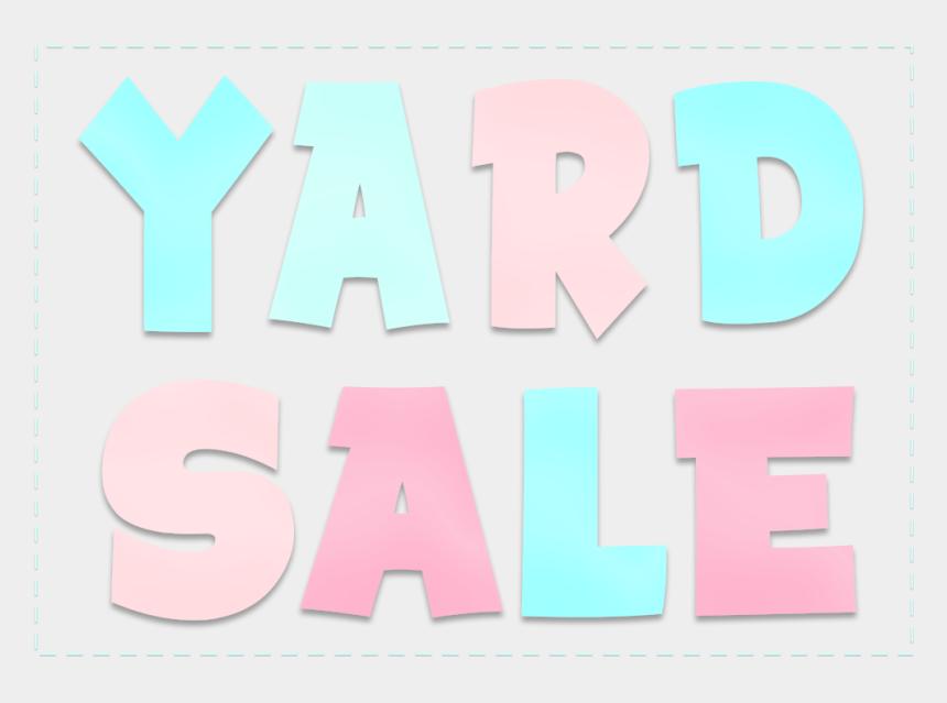 yard sale clip art, Cartoons - Poster