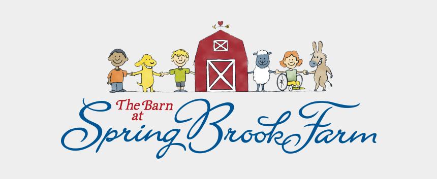 barn clip art, Cartoons - Barn At Spring Brook Farm