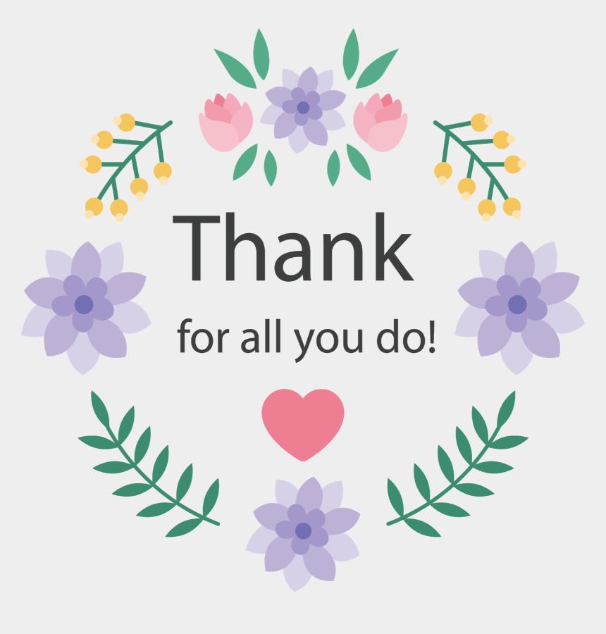 clip art thank you, Cartoons - Thank You Card Design Png