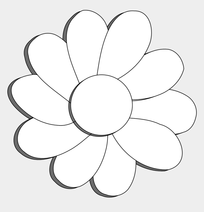 flower clip art black and white, Cartoons - Black And White Flower Clip Art, Flowers Black And - Happy Smiley Face Animated Gif