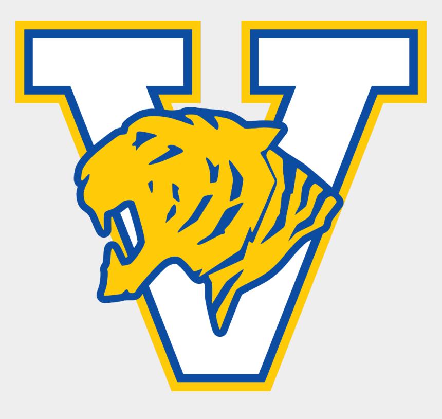 graduation clip art 2017, Cartoons - Valencia High School Tigers Clipart , Png Download - Valencia High School Tiger Logo