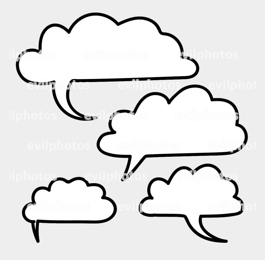 speech bubble clip art, Cartoons - Speech Bubble Drawing Vector And Stock Photo - Line Art