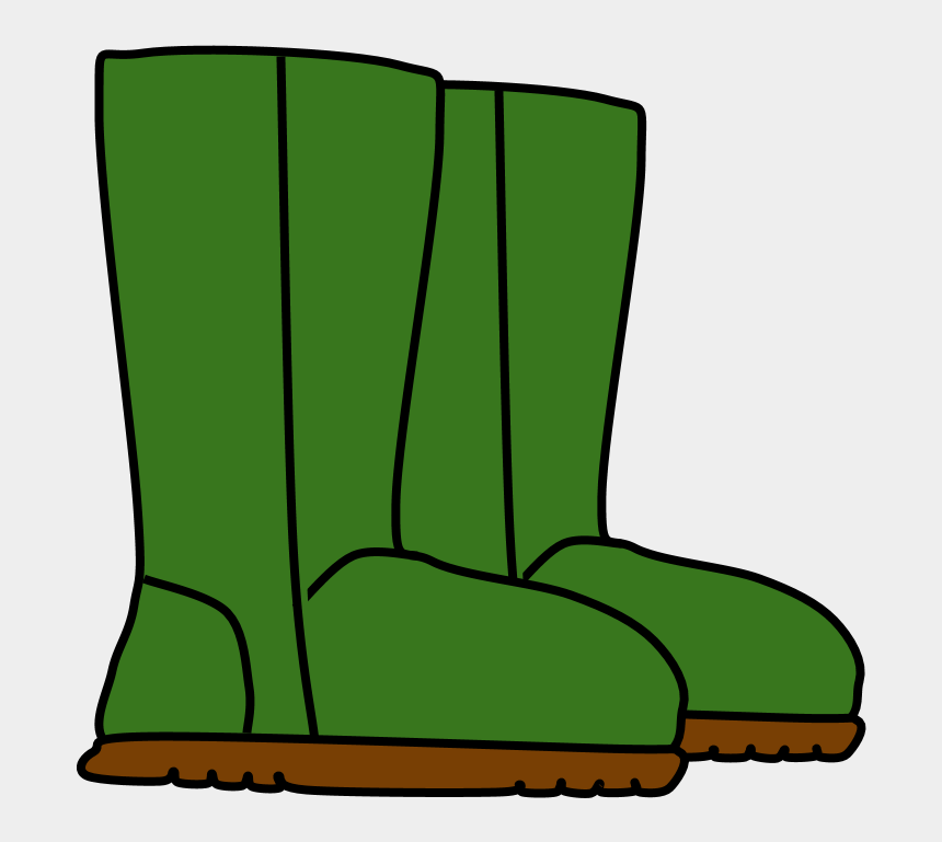 boots clip art, Cartoons - Boots, Snow, Rain, Green,