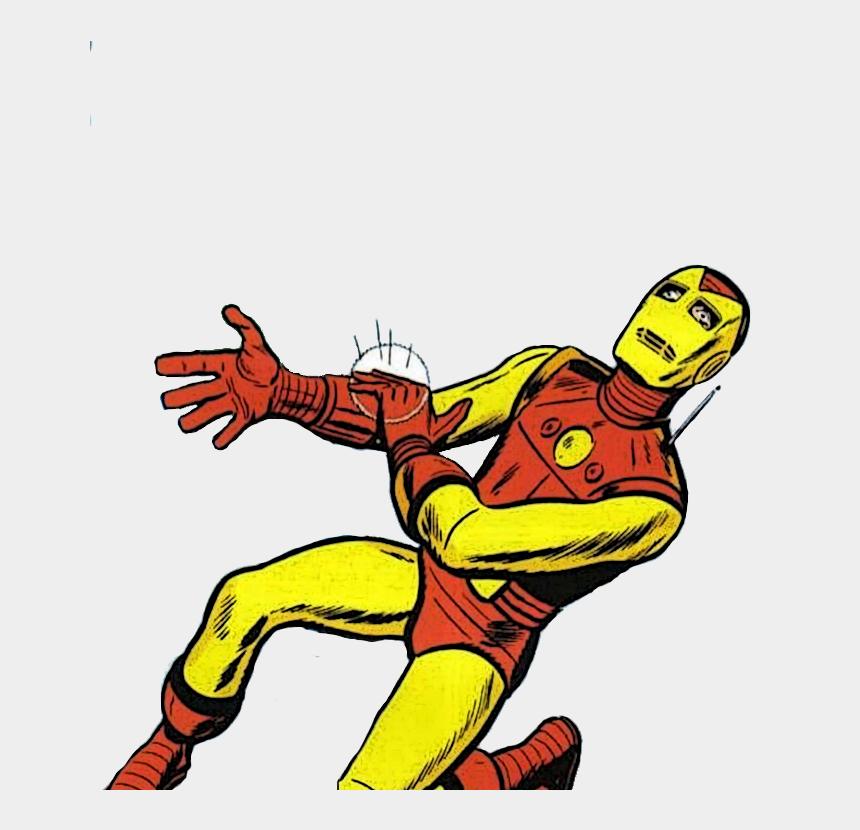 iron man clip art, Cartoons - Iron Man Sore Wrist Template , Transparent Back - Mr Doll