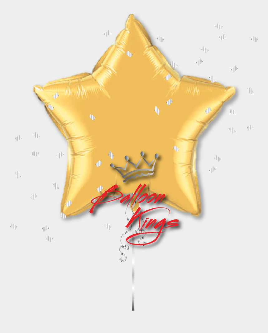 gold star clip art, Cartoons - Large Gold Star - Globo De Estrella Dorada Png