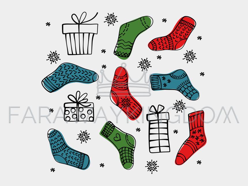 christmas stocking clip art, Cartoons - Clip Art