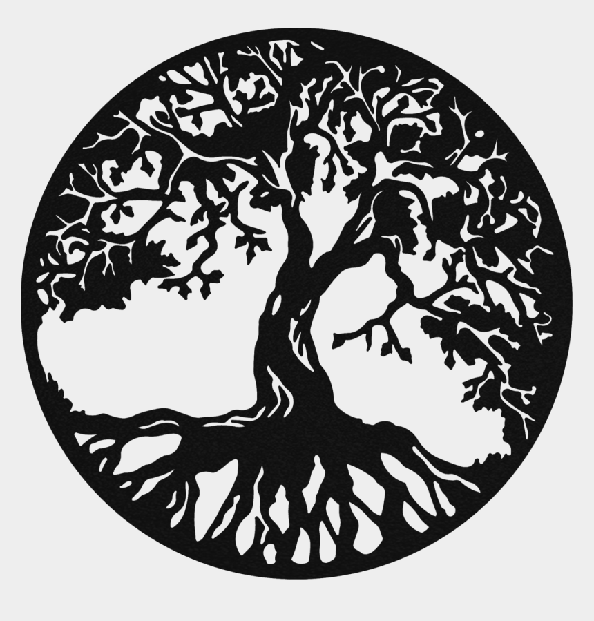 tree of life clip art, Cartoons - Tree Of Life Monogram