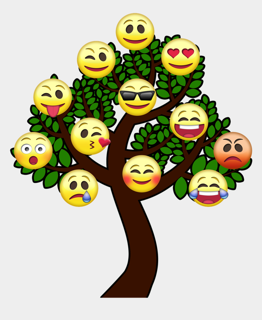 tree of life clip art, Cartoons - Tree Smiley Tree Of Life Free Picture - Free Emoji Smiley Faces Trees