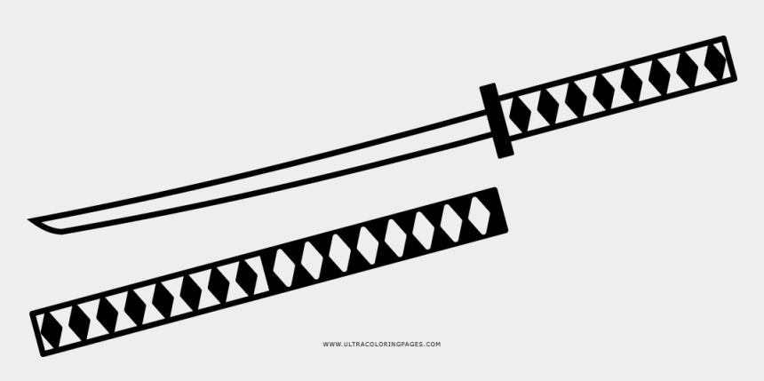light sabre clip art, Cartoons - Sword Coloring Page - Line Art