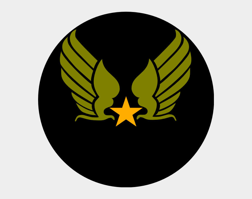 army clip art, Cartoons - Hap Arnold Wings Tattoo