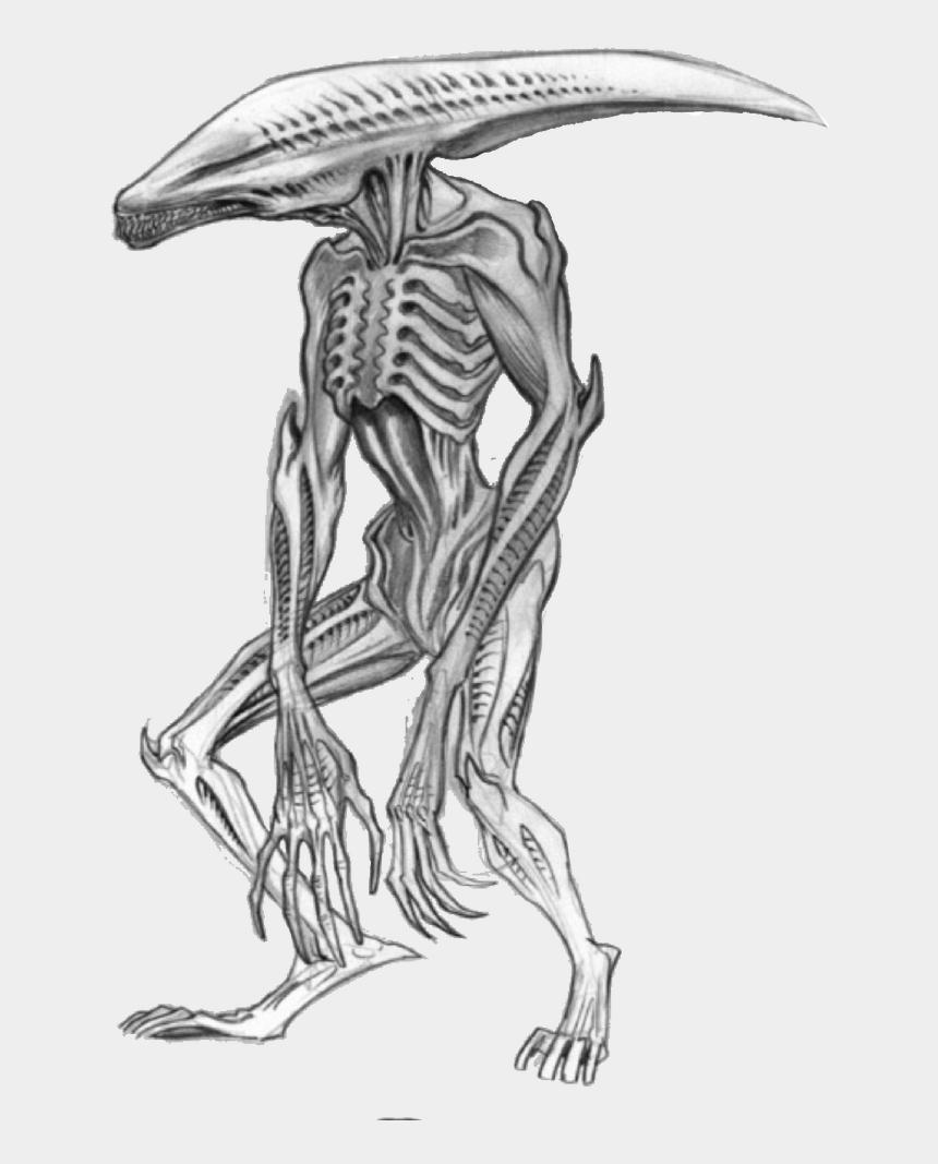 godzilla clipart, Cartoons - Drawing Godzilla Skeleton - Deacon Alien
