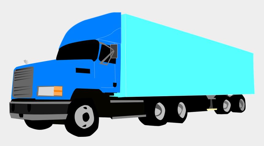18 wheeler clip art, Cartoons - Semi-trailer Truck 18 Wheeler - 18 Wheeler Clipart