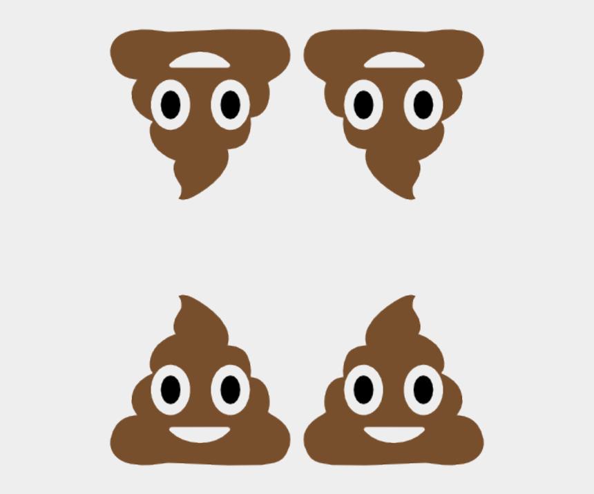 poop clip art, Cartoons - Iphone Poop Emoticon Clipart , Png Download - Does Eggplant Emoji Mean