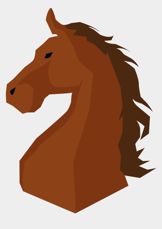 horse head clip art, Cartoons - Mustang Pony Mane Stallion - Stallion Png Cartoon