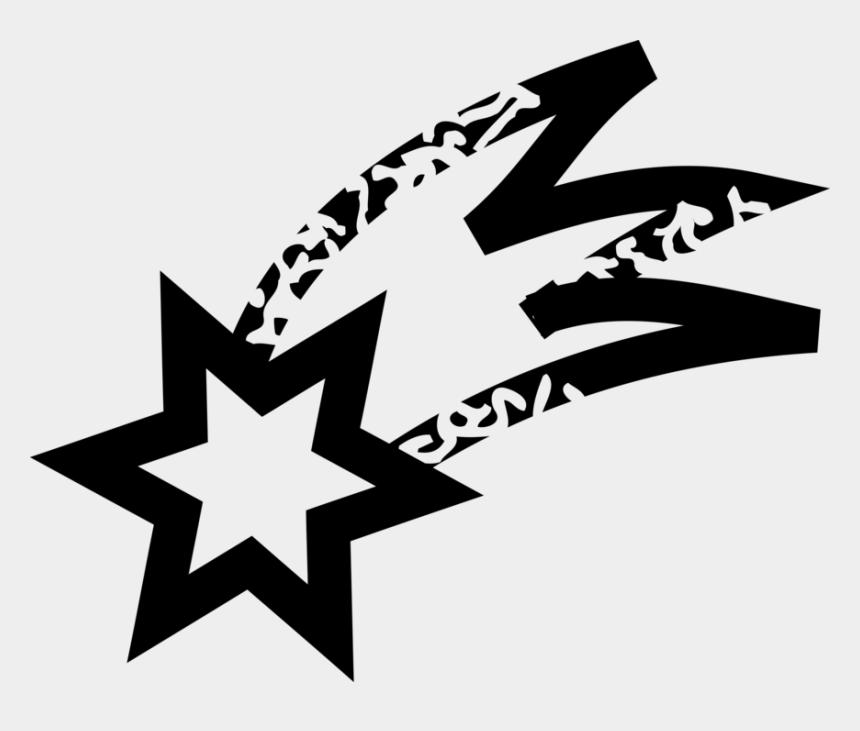 shooting stars clip art, Cartoons - Vector Illustration Of Shooting Star Of Bethlehem At - Shooting Star Clip Art