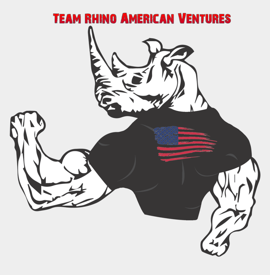 rhino clipart, Cartoons - Rhino Droppings Team American Ventures Ⓒ - Rhino Team